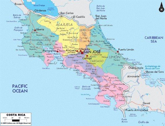 كوستاريكا الروشن العربي
